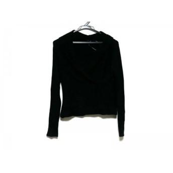 【中古】 ニジュウサンク 23区 長袖セーター サイズ38 M レディース 黒