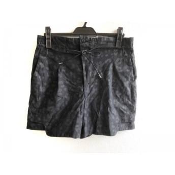 【中古】 トーガ TOGA ショートパンツ サイズ2 M レディース 黒 グレー