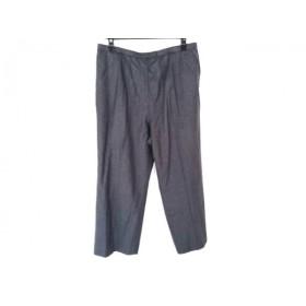 【中古】 レリアン Leilian パンツ サイズ17+ XL レディース ダークグレー