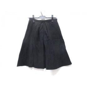 【中古】 プラステ PLS+T(PLST) スカート サイズ0 XS レディース ブラック