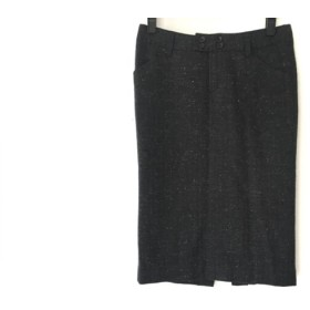 【中古】 スタニングルアー STUNNING LURE スカート サイズ36 S レディース ダークグレー