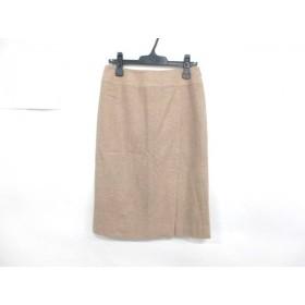 【中古】 バーバリーロンドン Burberry LONDON スカート サイズ40 L レディース ベージュ