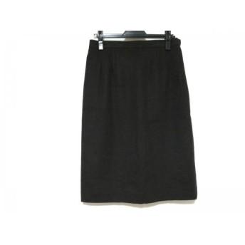 【中古】 バーバリーズ Burberry's スカート サイズ15 L レディース ダークブラウン