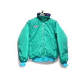 【中古】 コロンビア ダウンジャケット サイズS レディース ターコイズグリーン ライトブルー パープル