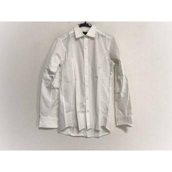【中古】 ジョセフオム JOSEPH HOMME 長袖シャツ サイズ46 XL メンズ 白