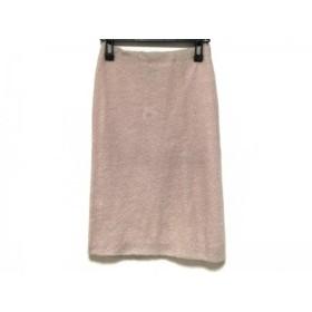 【中古】 ジャンフランコフェレストゥーディオ スカート サイズ42 L レディース 美品 ピンク