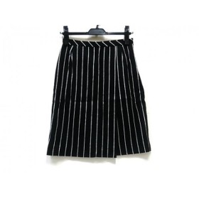 【中古】 アンタイトル UNTITLED スカート サイズ1 S レディース ブラック ホワイト