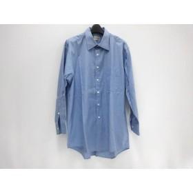 【中古】 アクアスキュータム Aquascutum 長袖シャツ サイズ80 メンズ ブルー