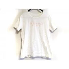 【中古】 マドモアゼルノンノン Mademoiselle NON NON 半袖Tシャツ サイズL レディース 白