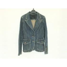 【中古】 アンタイトル UNTITLED ジャケット サイズ2 M レディース ブルー デニム