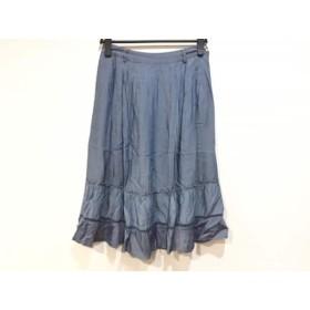 【中古】 ピッコーネ PICONE スカート サイズ40 M レディース ライトブルー