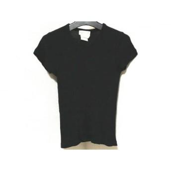 【中古】 アニエスベー agnes b 半袖Tシャツ サイズ1 S レディース 黒
