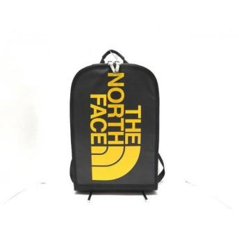 【中古】ノースフェイス THE NORTH FACE リュックサック 美品 黒xイエロー PVC(塩化ビニール)xナイロン 新着 20190301