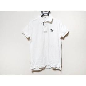 【中古】アバクロンビーアンドフィッチ Abercrombie & Fitch 半袖ポロシャツ サイズS メンズ 白