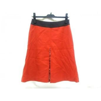 【中古】 ユナイテッドアローズ ミニスカート サイズ36 S レディース オレンジ ダークブラウン ベージュ