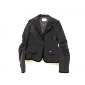 【中古】 ピッコーネ PICONE ジャケット サイズ40 M レディース 美品 黒 STUDIO