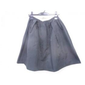 【中古】 ノーリーズ NOLLEY'S スカート サイズ38 M レディース ブラック