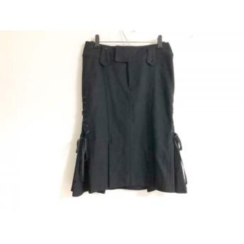 【中古】 シトラスノーツ CITRUS NOTES スカート サイズ36 S レディース 黒