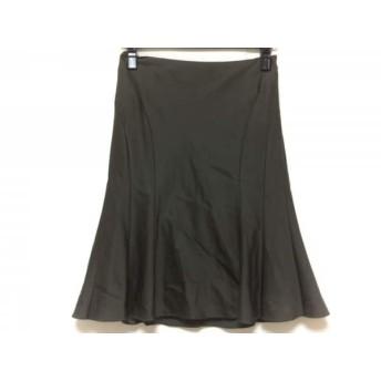 【中古】 ボディドレッシングデラックス スカート サイズ9 M レディース カーキグレー