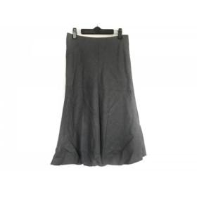【中古】 アドーア ADORE ロングスカート サイズ36 S レディース ダークグレー