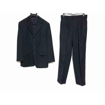 【中古】 コムサデモードメン COMME CA DU MODE MEN シングルスーツ サイズ1 S メンズ 黒