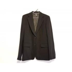 【中古】ダナキャラン DKNY ジャケット サイズ6 M レディース 黒
