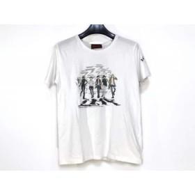 【中古】 ダンケシェーン Danke Schon. 半袖Tシャツ サイズS レディース 白 マルチ