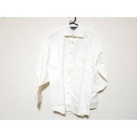 【中古】 ケンゾー KENZO 長袖シャツ サイズ2 M メンズ 白 HOMME