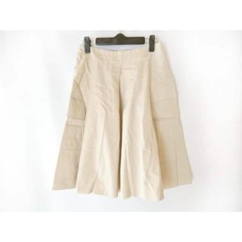 【中古】 マチコジント machiko jinto スカート サイズ36 S レディース ベージュ