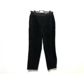 【中古】 トゥモローランド TOMORROWLAND パンツ サイズ36 S レディース 黒 コーデュロイ