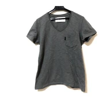 【中古】 エーケーエム AKM 半袖Tシャツ サイズS メンズ グレー