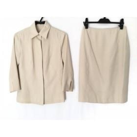 【中古】 ボッシュ BOSCH スカートスーツ サイズ38 M レディース アイボリー