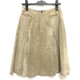【中古】 オットー OTTO スカート サイズ9 M レディース ブラウン