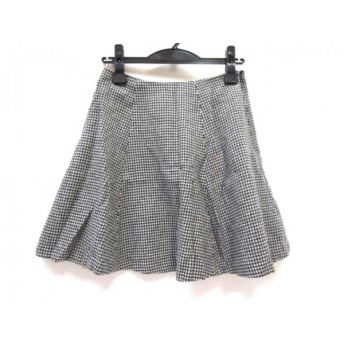 【中古】 ナチュラルビューティー ベーシック スカート サイズS S レディース グレー マルチ