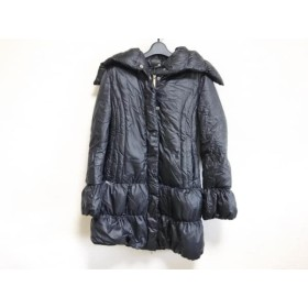 【中古】 シービーワイ CBY ダウンコート サイズ42 L レディース 黒 冬物