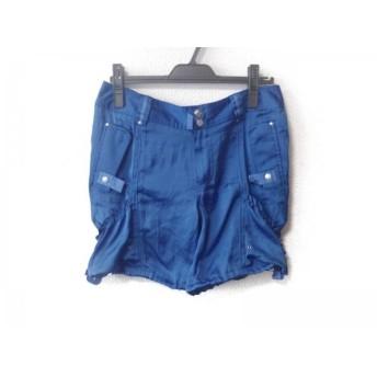 【中古】 ラルフローレン RalphLauren ショートパンツ サイズ6 M レディース ブルー