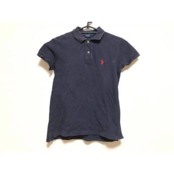 【中古】 ラルフローレン RalphLauren 半袖ポロシャツ サイズXS メンズ ネイビー