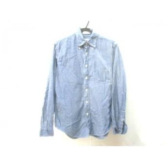 【中古】 ノーブランド 長袖シャツ サイズ1533 メンズ ネイビー