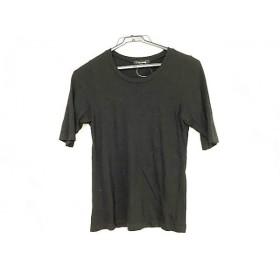 【中古】 ワイズフォーリビング Y's for living 半袖Tシャツ サイズM レディース 黒