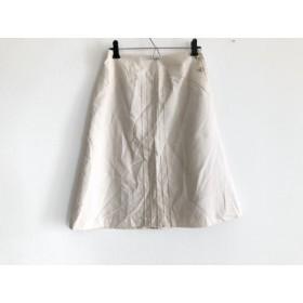 【中古】 ホコモモラ JOCOMOMOLA スカート サイズ40 XL レディース アイボリー