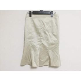 【中古】 マテリア MATERIA スカート サイズ38 M レディース アイボリー