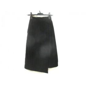 【中古】 ロペ ROPE スカート サイズW-58 レディース ダークネイビー