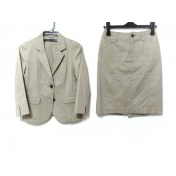 【中古】 アナイ ANAYI スカートスーツ サイズ38 M レディース ベージュ