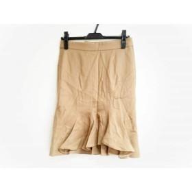 【中古】 レキップ ヨシエイナバ L'EQUIPE YOSHIE INABA スカート サイズ38 M レディース ブラウン