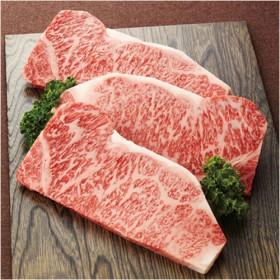 精肉専門店 つの田 三重県産松阪牛ステーキ用(サーロイン) 3枚入り 600g