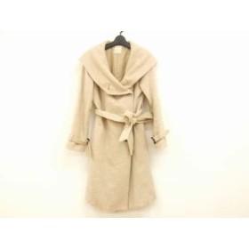 【中古】 ラモアールデリュクス l'armoire de luxe コート サイズ38 M レディース ライトブラウン 冬物
