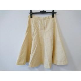 【中古】 ザ ヴァージニア The Virgnia スカート サイズ38 M レディース アイボリー