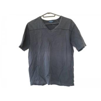 【中古】 バーバリーブルーレーベル Burberry Blue Label 半袖Tシャツ サイズL メンズ 黒