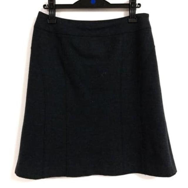 【中古】 ジユウク 自由区/jiyuku スカート サイズ42 L レディース ダークグレー