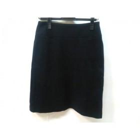 【中古】 マカフィ MACPHEE スカート サイズ38 M レディース ブラック